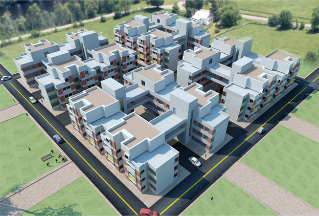 Welcome to canopy our projects low cost mass housing for Big houses for low prices